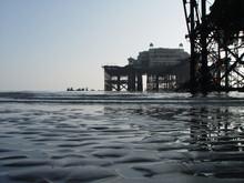 Brighton West Pavilion Pier After Fire 2003