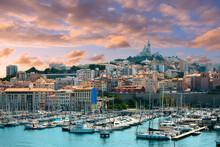 Dramatic Sky Above Marseille, Provence, France