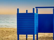 Cabina De Playa Para Cambio De Rpoa De Madera