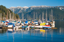 Yachts And Boats In Vancouver, Canada