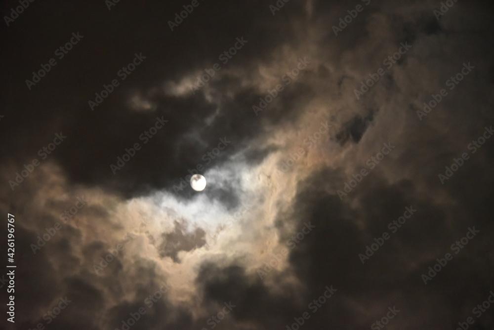 Fototapeta ponure niebo