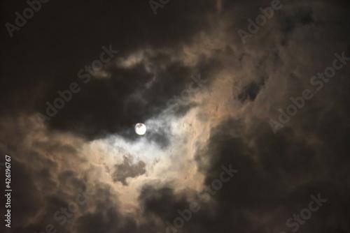 Fototapeta ponure niebo obraz