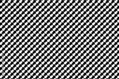 Obraz Patrón de flechas negras y blancas con efecto negativo ordenadas en vertical - fototapety do salonu