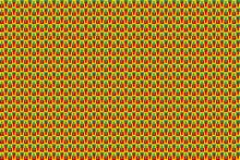 Patrón De Cuadros Y Rectángulos En Colores Vivos Formando Mosaico