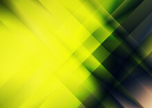Green Yellow And Brown Fractal Stripes Modern Background