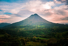 Arenal Volcano Aerial View, Costa Rica