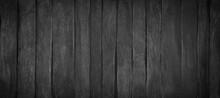 Wood Texture. Black Wood Background, Dark Table Texture