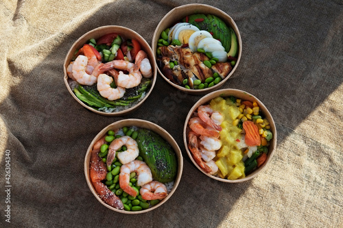 Fotografia Clean eating diet concept