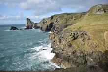 The Coast At Tintagel Cornwall