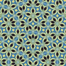 Van Gogh Notte Stellata Pattern Geometrico 9