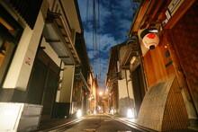 京都 先斗町の夜 Kyoto, Ponto-cho, Gion,Japan