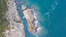 Mesmerizing View Of A Beautiful Rocky Coastline