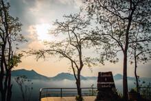 Phu Thok Viewpoint, Chiang Khan District, Thailand