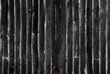 Old Dark Wooden Planks Wall
