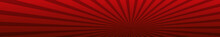 Abstract Image, Burgundy Rays Of The Sun On A Red Background - Vector