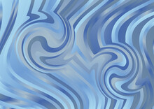 Abstract Blue And Grey Distorted Lines Background Vector Eps