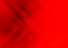 Abstract Bright Red Fractal Stripes Modern Background Vector Eps