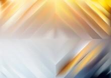 Orange Blue And Grey Rhombus Background Vector Image