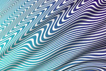 Purple And Azure Blue Green Waves Overlay With White Background Illustration Graphic