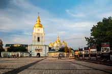 St Michaels Golden Domed Monastery In Kyiv