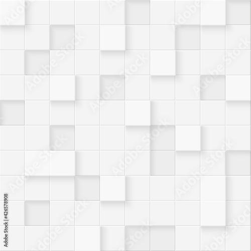 Fotografía 3d seamless cubes pattern
