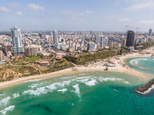 Netanya Israel - Looking At The World From A Height