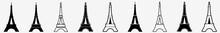 Eiffel Tower | Tower | Emblem | Logo | Variations