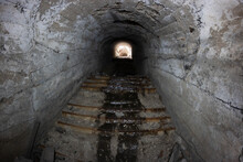 Abandoned Tunnels In The Mine