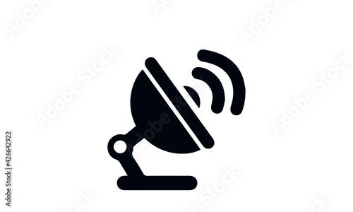 Obraz  Air Traffic Control Icon vector design  - fototapety do salonu