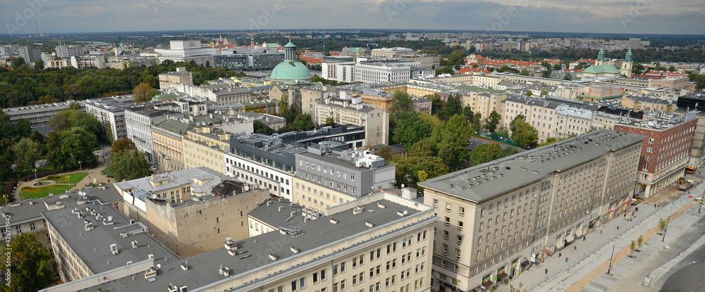 Fototapeta dachy budynków