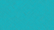 Digital Texture With Thin Diagonal Orthogonal Lines In Bright Vivid Turquoise Hues