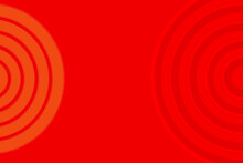 Abstract Background With Bright Red Circular Patterns