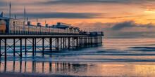 Paignton Pier Sunrise Glow