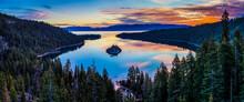 Sunrise On Emerald Bay, Lake Tahoe