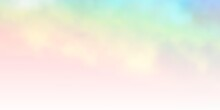Light Multicolor Vector Layout With Cloudscape.