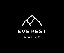 Everest Logo Icon Vector Illustration