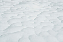 Patterns In Melting Snow
