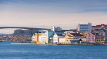 Kristiansund Landscape, Coastal Norwegian Town
