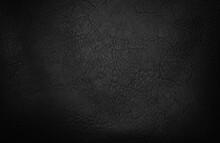 Black Matte Gradient Artificial Leather Texture Background