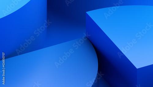 Fotografia Abstract 3D Render