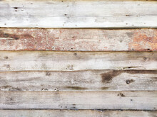Old Weathered Wooden Barrels Or Planks Textured Background