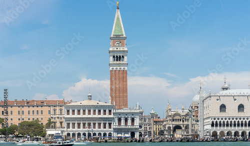 Fotografía From Russia with love film location in Venice, Italy, St Mark's Square, Piazza S