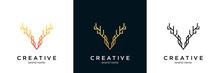 Luxury Dear Logo Icon Vector