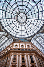 The Galleria Vittorio Emanuele II Is One Of The World's Oldest Shopping Malls. It Was Designed In 1861 And Built By Giuseppe Mengoni Between 1865 And 1877. Milan