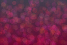 Abstract Background With Bokeh. Soft Light Defocused Spots
