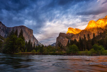 Gates Of The Valley In Yosemite National Park