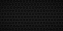 Abstract Background With Hexagon Holes In Black Colors