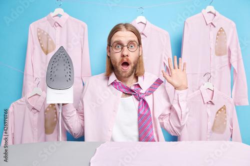 Fototapeta Domestic life and housework concept