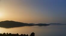 Seascape At Sunset - Croatia, Adriatic Sea, Dalmatia, Europe.