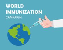 World Immunization Campaign Concept Design